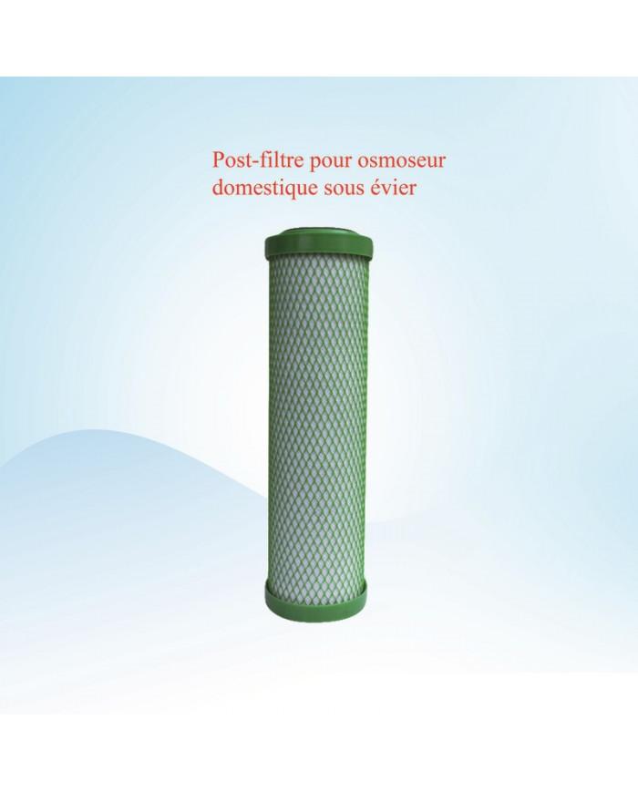 Postfiltre osmoseur domestique sous évier