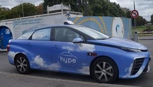 voiture à l'hydrogène